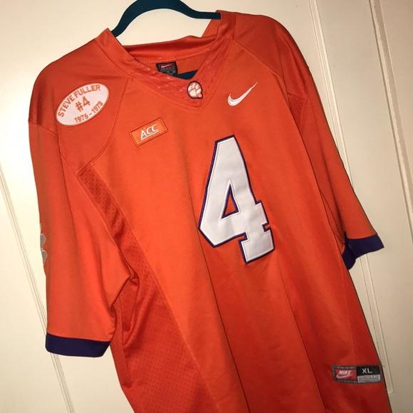 reputable site 0aafe 4bab7 Nike Deshaun Watson #4 Clemson football jersey